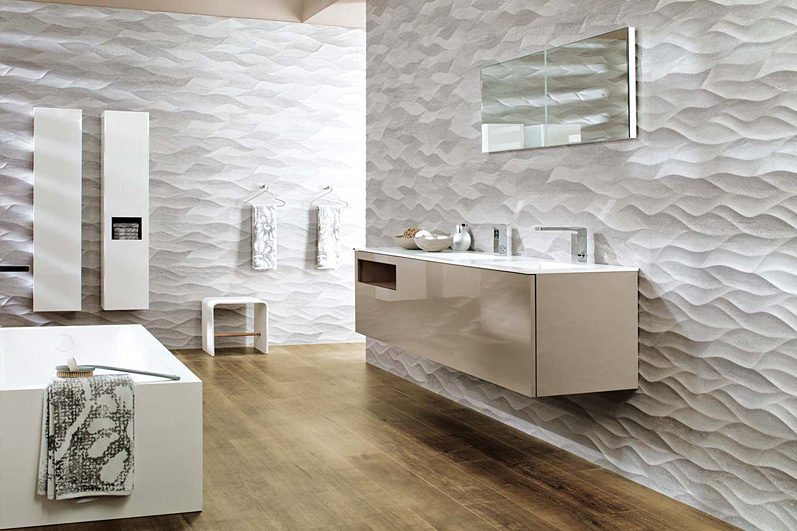Carrelage Porcelanosa salle de bain